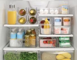 Mẹo thông minh để sắp xếp tủ lạnh gọn gàng