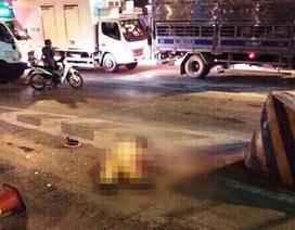 Thiếu tá CSGT bị tông chết sau khi bám gương chiếu hậu, trượt ngã