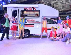 Isuzu gây ấn tượng mạnh với mẫu xe lần đầu tiên có mặt tại Việt Nam