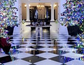 Gia đình cô Kim trang hoàng nhà cửa lộng lẫy đón Giáng sinh