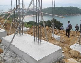Kiến nghị phá bỏ ngay 40 móng biệt thự trái phép ở Sơn Trà