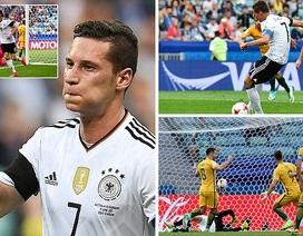 Australia 2-3 Đức: Chiến thắng vất vả