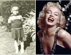 Ảnh hiếm chụp Marilyn Monroe năm lên 4 tuổi