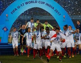 Thắng đậm Tây Ban Nha, U17 Anh vô địch World Cup U17