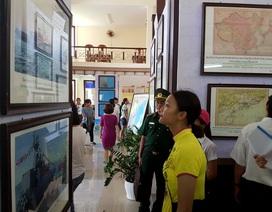 Hàng trăm tư liệu về Hoàng Sa, Trường Sa được triển lãm tại Hội An