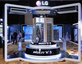 LG ra mắt sản phẩm điều hòa trung tâm Multi V5
