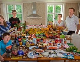 Người dân thế giới chi tiêu hết bao nhiêu tiền thực phẩm trong 1 tuần?