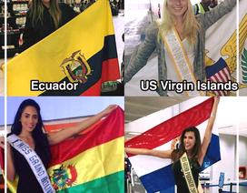 Các mỹ nhân Miss Grand International 2017 rộn ràng khoe ảnh chuẩn bị sang Việt Nam