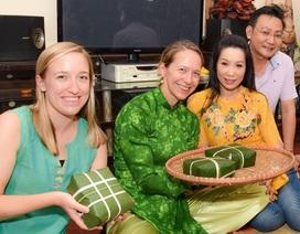 Vị khách đặc biệt của gia đình Á hậu Trịnh Kim Chi trong ngày cuối năm