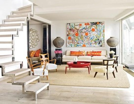 Khám phá không gian phòng khách của các nhà thiết kế hàng đầu thế giới