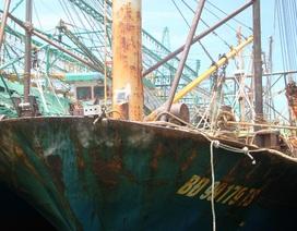 Tàu vỏ thép vừa đóng đã hư hỏng: Do nước biển mặn, thời tiết khắc nghiệt?