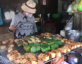 Quán chuối nướng trong hẻm Sài Gòn thu chục triệu đồng/ngày