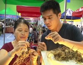 Quảng Nam: Độc đáo phiên chợ sâm tiền tỉ