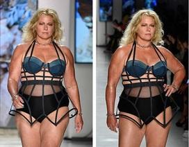 """Người mẫu """"béo"""" đầu tiên trong làng mốt tái xuất hé lộ bí mật"""