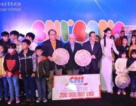 Nghệ sỹ Việt đồng hành từ thiện cùng tập đoàn CNI tại Đà Nẵng