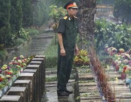 Trở về bên đồng đội yên nghỉ nơi chiến trường biên giới Vị Xuyên