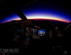 Chùm ảnh cho thấy phi công mới là nghề có góc làm việc đẹp nhất thế giới