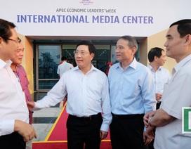 Phó Thủ tướng Phạm Bình Minh dự khai trương Trung tâm báo chí quốc tế APEC