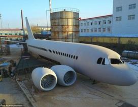 Nông dân Trung Quốc dốc sạch tiền tiết kiệm chế tạo máy bay giống Airbus A320