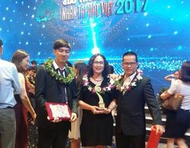 """Nhóm đạt giải Ba Nhân tài Đất Việt 2017: """"Đã có cơ hội hợp tác ngay sau khi nhận giải"""""""