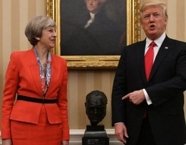 """Tổng thống Mỹ """" đấu khẩu"""" với Thủ tướng Anh về video nhạy cảm"""