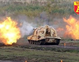 [Infographic] Nga triển khai siêu pháo đánh bật IS ra khỏi hang ổ