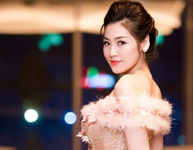 Á hậu Dương Tú Anh lộng lẫy trong vai trò MC