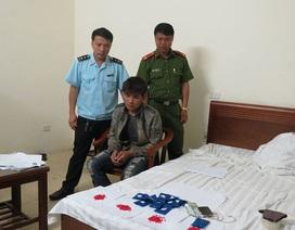 Đột kích khách sạn, bắt đối tượng tàng trữ hơn 2 nghìn viên ma túy