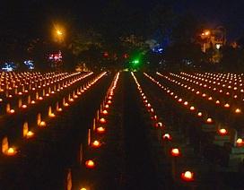11.000 ngọn nến lung linh trong đại lễ cầu siêu tưởng nhớ các Anh hùng liệt sĩ