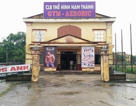 """Ninh Bình: Nhà văn hóa phường """"biến"""" thành… phòng tập thể hình!"""