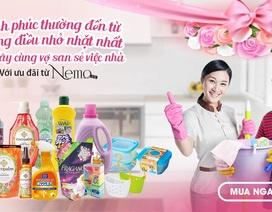 8/3 – Hãy cùng vợ san sẻ việc nhà với ưu đãi chỉ có duy nhất tại Nemo.vn