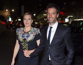 Kate Winslet xinh đẹp bên chồng trẻ