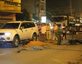 Hai thiếu niên đi xe máy tông ô tô, tử vong tại chỗ