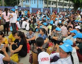 Thanh Hóa: Khoảng 8.000 công nhân đình công vì không có nhà để xe