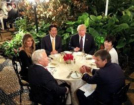 Đệ nhất phu nhân Nhật Bản lảng tránh nói chuyện với Tổng thống Trump?