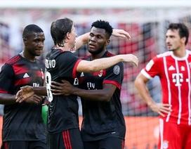 """""""Đại gia"""" AC Milan bất ngờ vùi dập Bayern Munich"""