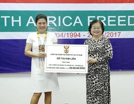 Lãnh sự Nam Phi tại TPHCM tặng nhà tình nghĩa cho Quân chủng Hải quân