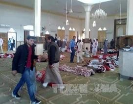 Khủng bố đẫm máu tại Ai Cập: Số nạn nhân thiệt mạng lên đến 305 người