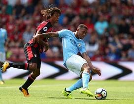 Bournemouth 1-2 Man City: Chiến thắng ở phút bù giờ