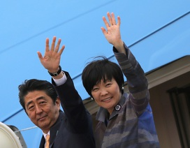 """Nhà Trắng vắng bà chủ, đệ nhất phu nhân Nhật """"cô đơn"""" ở Washington"""