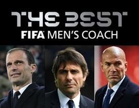 Mourinho bị gạch tên khỏi danh sách rút gọn HLV xuất sắc nhất