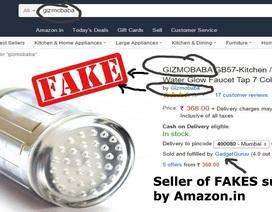 Amazon bán hàng giả làm ảnh hưởng sức khỏe của khách hàng
