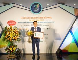 AMWAY Việt Nam lại lọt TOP 100 doanh nghiệp phát triển bền vững tại VN