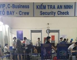 Hành khách đi máy bay nghi xách theo đạn và kíp nổ