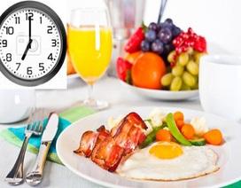 Tại sao đừng bao giờ bỏ ăn sáng?