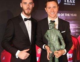 Cầu thủ xuất sắc nhất MU mùa giải 2016/17: Ibrahimovic chỉ xếp thứ 3