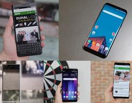 Những mẫu smartphone Android cao cấp đáng mua mùa cuối năm