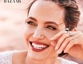 Angelina Jolie xinh đẹp rạng ngời trên bìa tạp chí