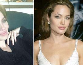 """Sốc trước vẻ ngoài của """"bản sao"""" Angelina Jolie"""