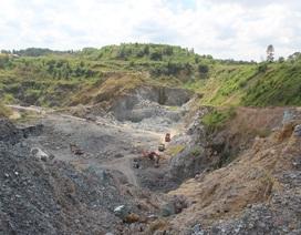Thanh tra 17 mỏ khai thác đá tại Đồng Nai